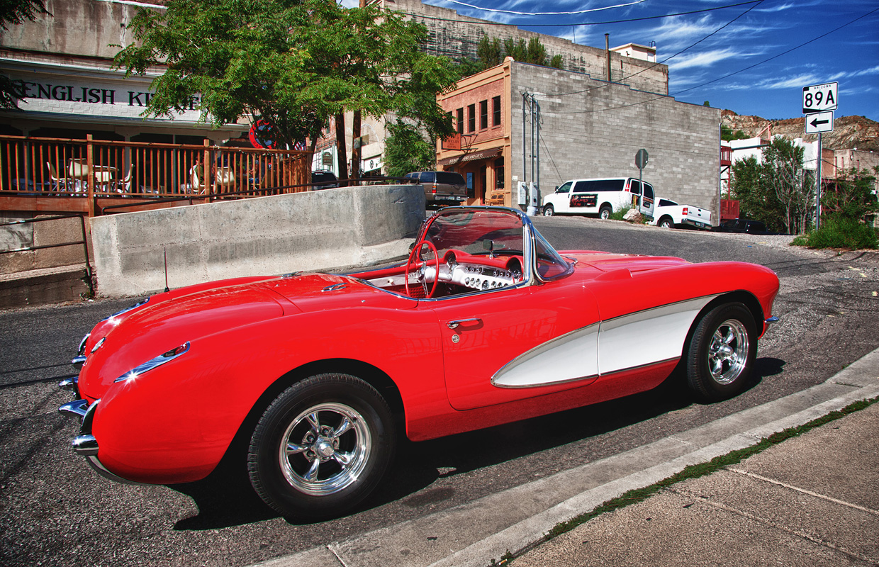 1957 Corvette convertible jerome arizona