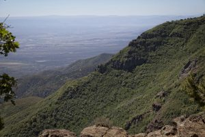 a vew of the verde valley from mingus mountain