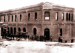 the connor hotel jerome arizona in 1899