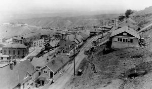 an old photo of jerome arizona