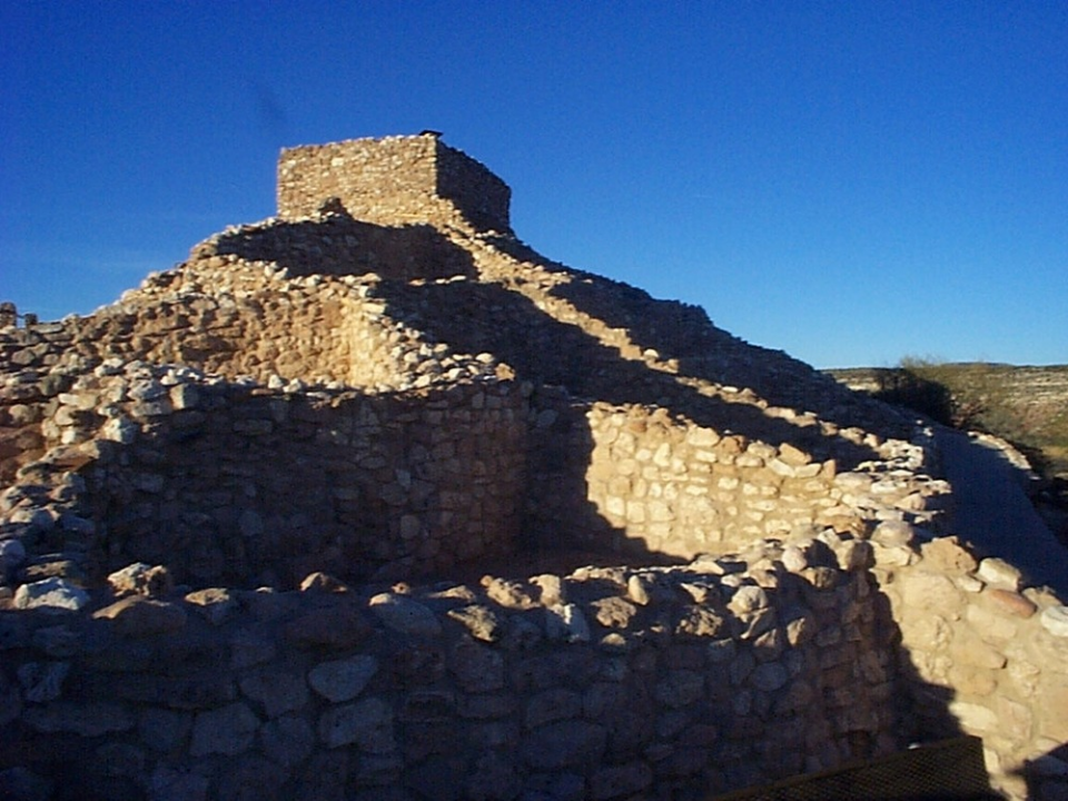 the tower room at tuzigoot